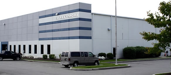 Photo of the new Ballymore facility opening in 2014