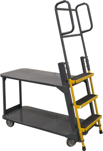 The Ballymore Merchandise Ladder Cart.