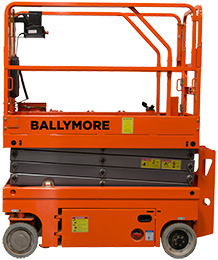 A photo of the new Scissor Lift.