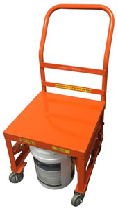 Paint Cart Features Ballymore