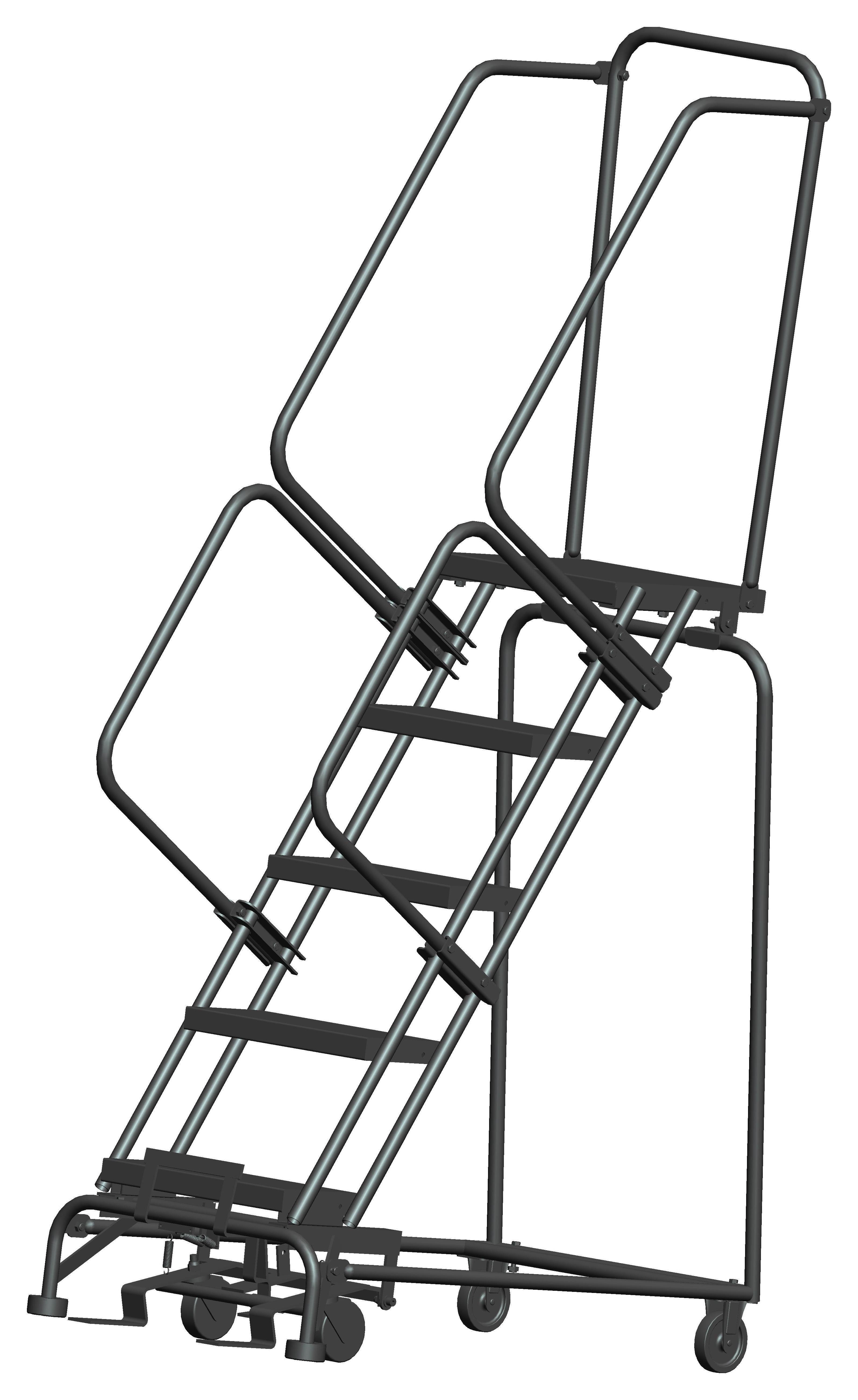M 2000 Series Rolling Safety Ladder Ballymore