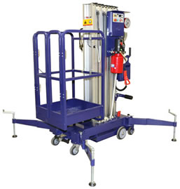 Mobile Vertical Lift for 1 Person
