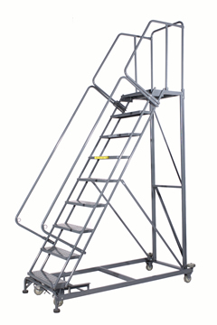 Photo of a 9-step Monster Line Ladder