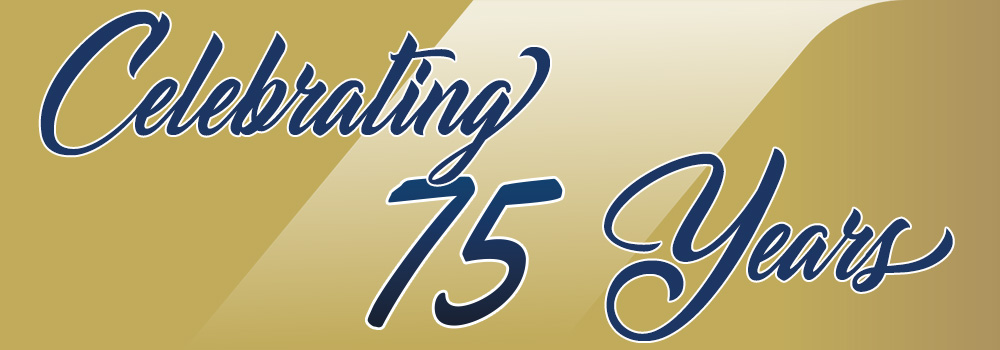Celebrating 75 years of business - since 1945
