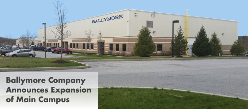 Ballymore company announces expansion of main campus